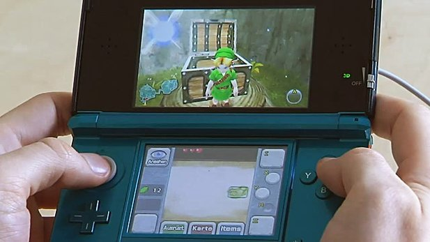 The Legend of Zelda: Ocarina of Time 3D - Gameplay-Video aus der Redaktion