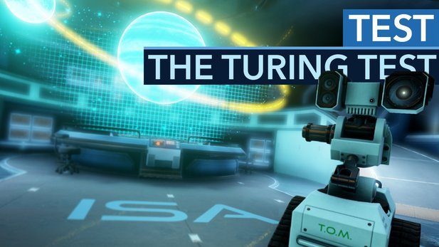 The Turing Test - Testvideo: Clevere Rätsel, tolles Setting - aber etwas fehlt.