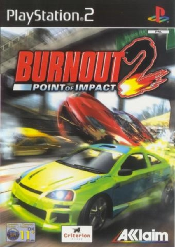 Cover zu Burnout 2