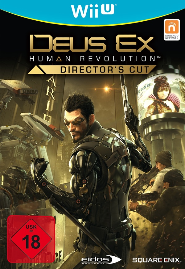 Cover zu Deus Ex: Human Revolution - Director's Cut