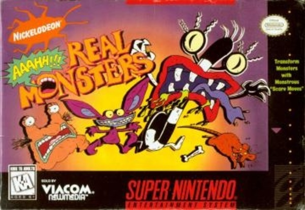 Cover zu Nickelodeon: Aaahh!!! Real Monsters