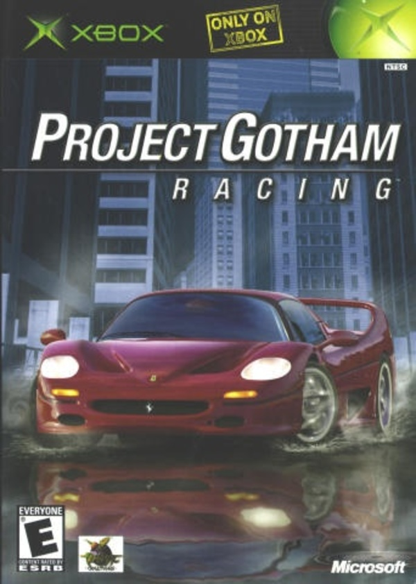 Cover zu Project Gotham Racing