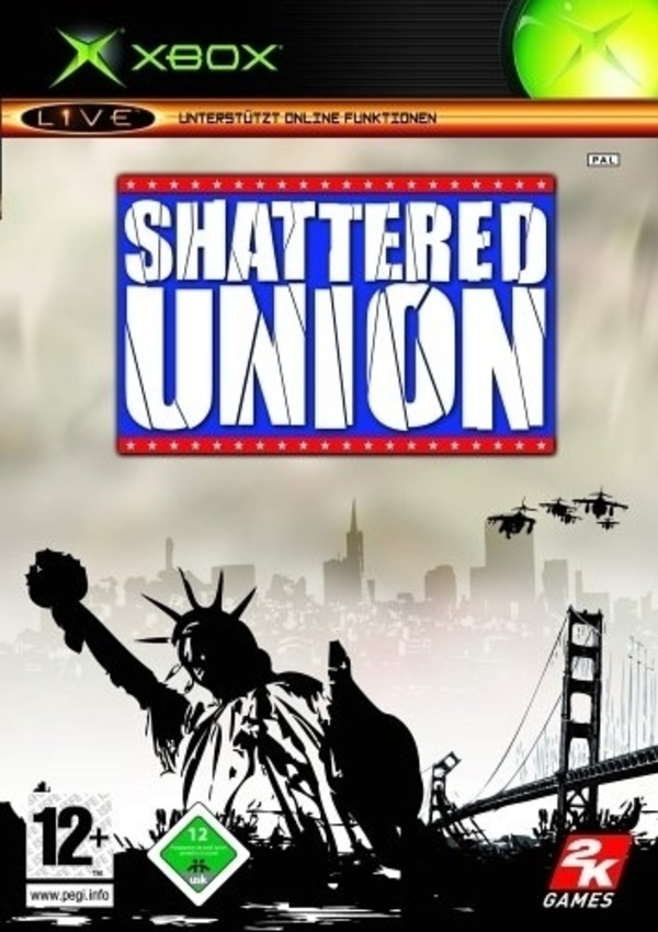 Cover zu Shattered Union