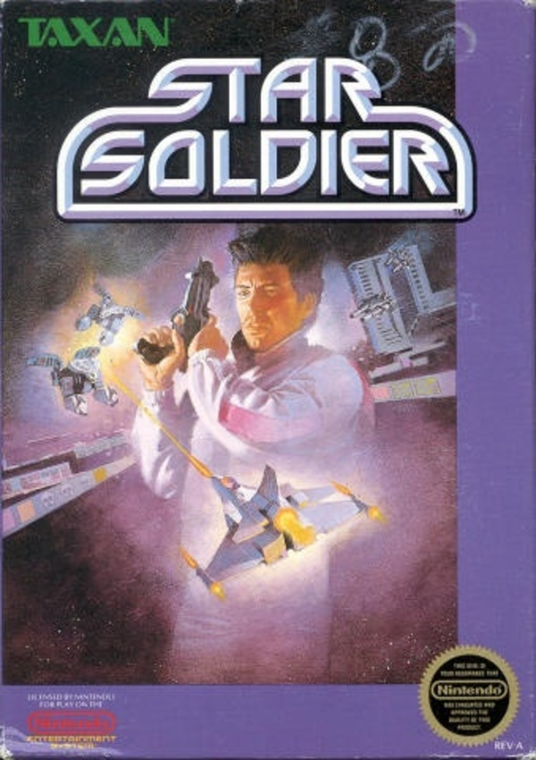 Cover zu Star Soldier