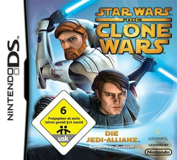 Cover zu Star Wars: The Clone Wars - Die Jedi-Allianz