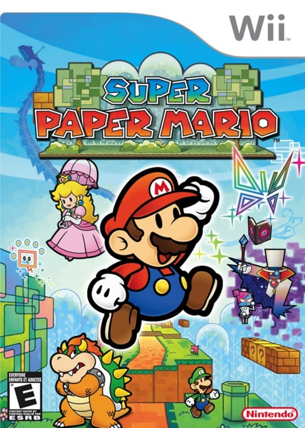 Cover zu Super Paper Mario