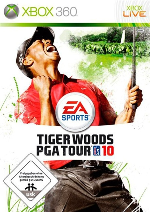 Cover zu Tiger Woods PGA Tour 10