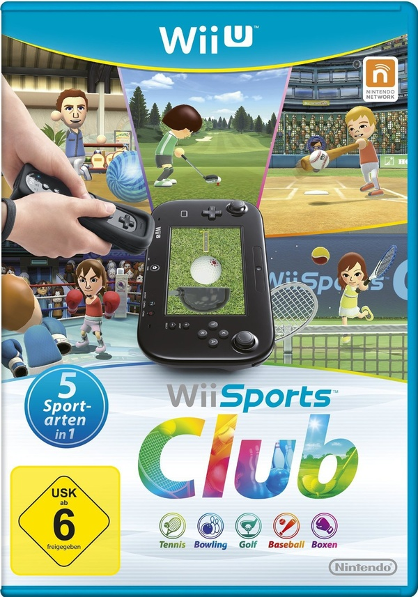 Cover zu Wii Sports Club