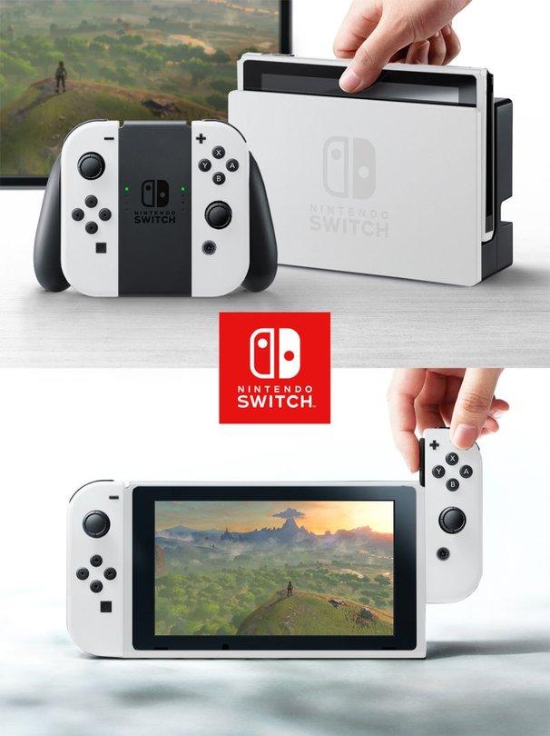 Nintendo Switch - So würde die Konsole in unterschiedlichen Farben ...
