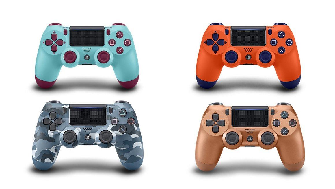 Ps4 Controller Farben.Ps4 Neue Controller Sony Stellt Vier Dualshock 4 Farben Vor