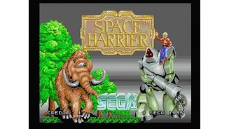 In the arcade you can play Space Harrier and Hang-On