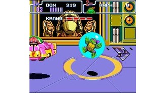 Fighting Krang once more