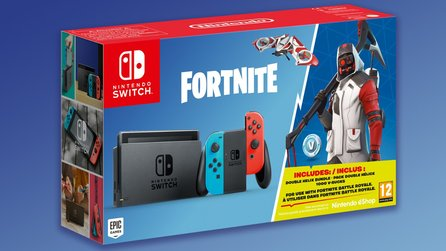 Nintendo Switch - Konsolen-Bundle mit Fortnite & Extra-Items im Anflug
