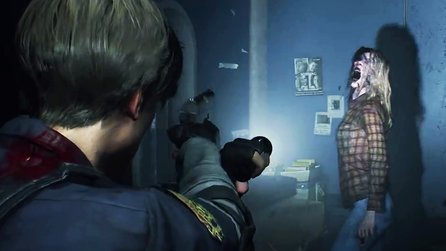 Resident Evil 2 Remake - 5 Minuten Demo-Gameplay mit neuer Grafikengine