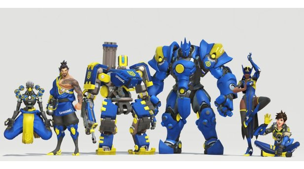 Overwatch League - Alle neuen Team-Skins: Boston Uprising