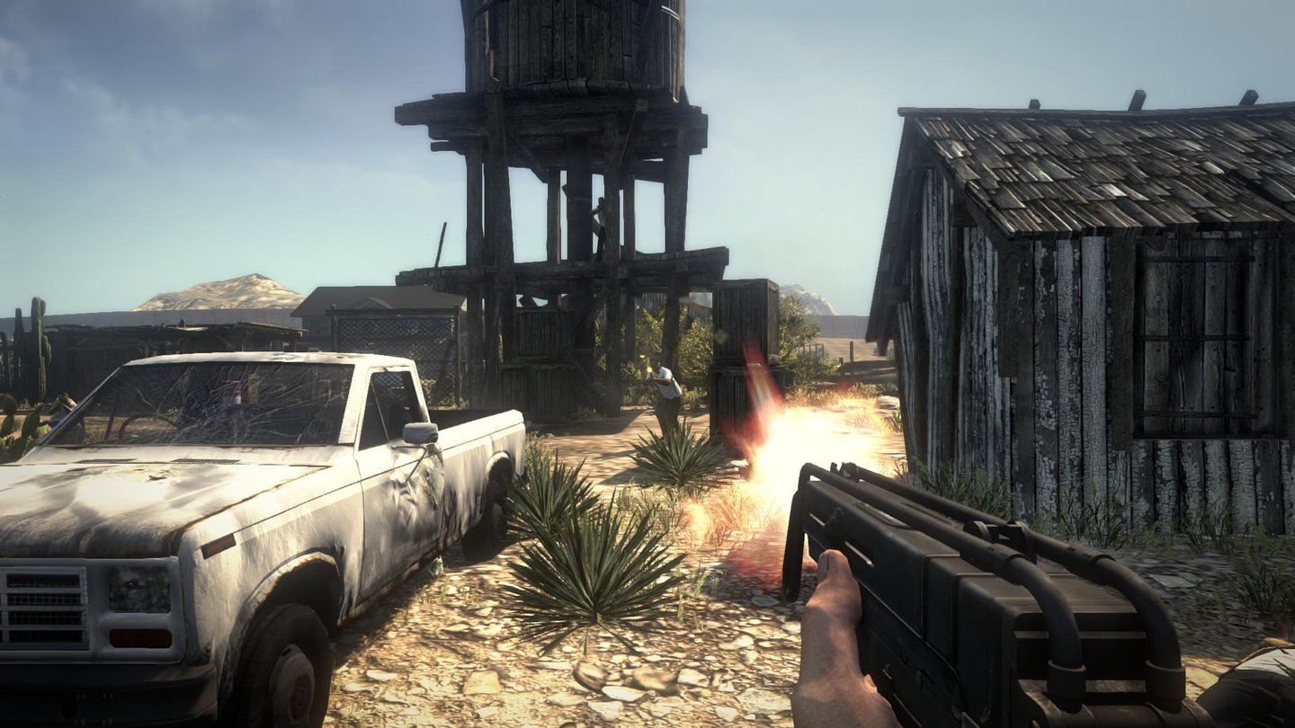 Call of Juarez: The CartelScreenshots aus dem Singleplayer-Modus