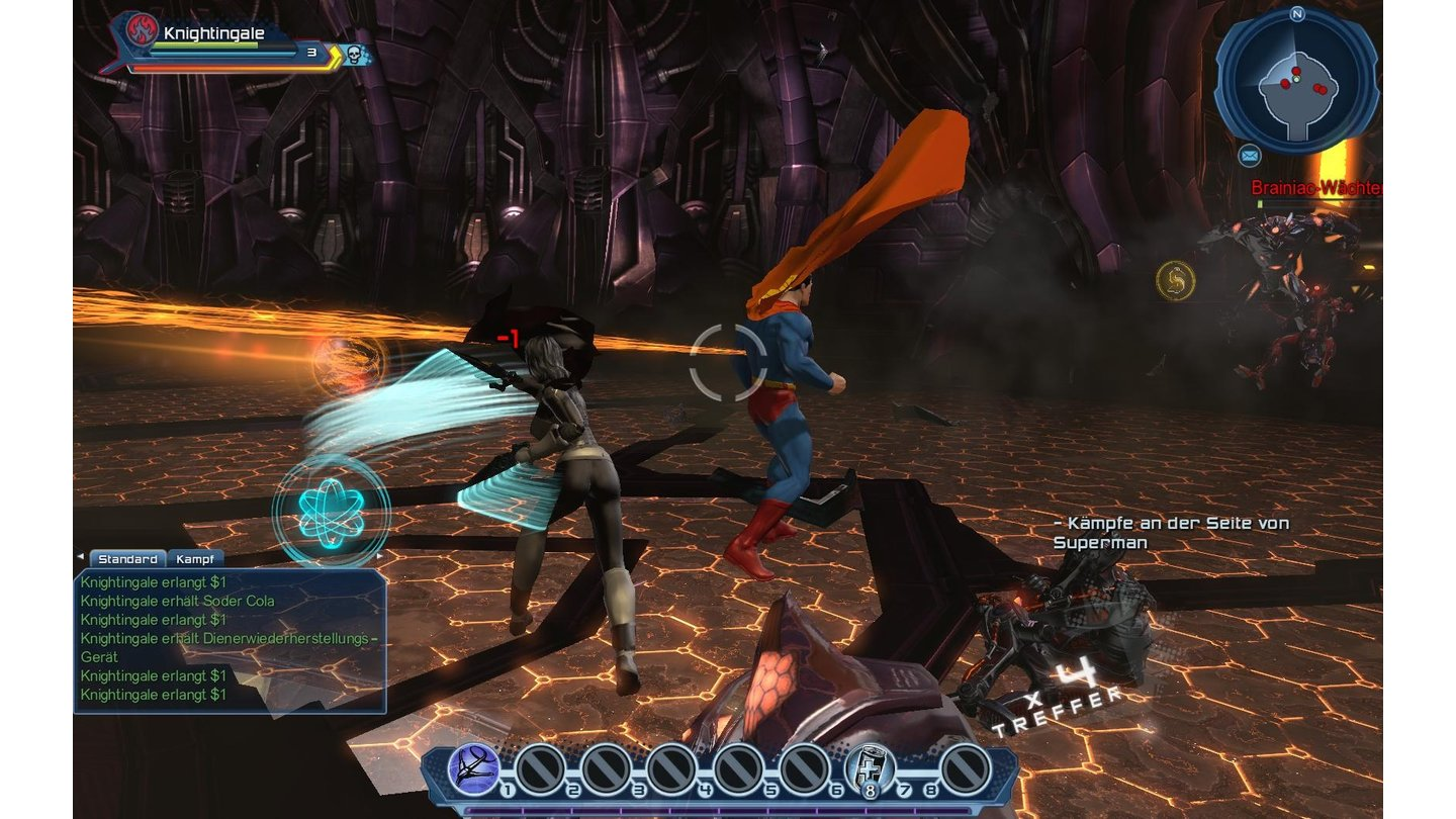 DC Universe Online - PC-Screenshots zum Launch