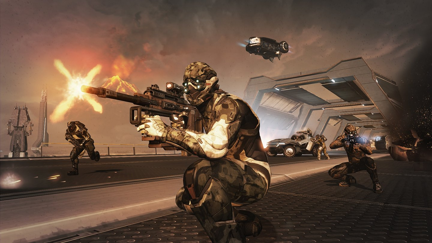 Dust 514Screenshot aus dem Uprising-Update