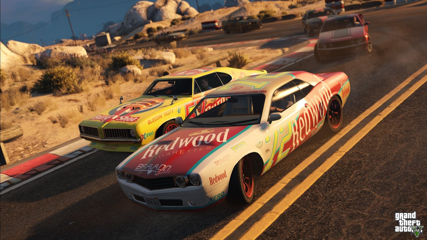 Grand Theft Auto 5 - NextGen/PC-Version - Neue Muscle-Cars