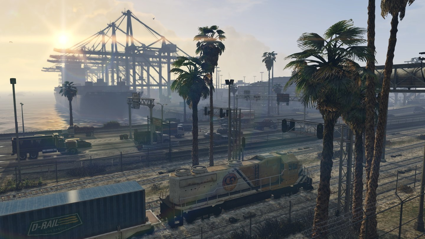 Grand Theft Auto 5 - Screenshots aus der Next-Gen-Version