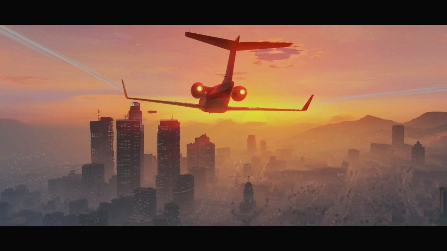 GTA 5 – Trailer-AnalyseSchon in GTA: San Andreas gab's Flugzeuge.