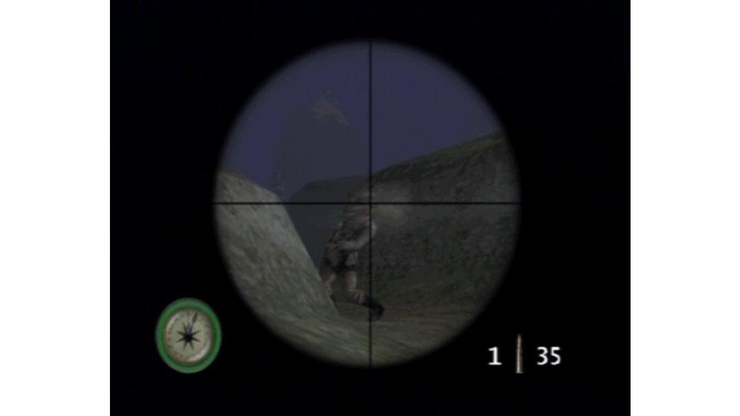 Sniper shot in the head isn't as easy with enemy on the loose, but doable nevertheless.