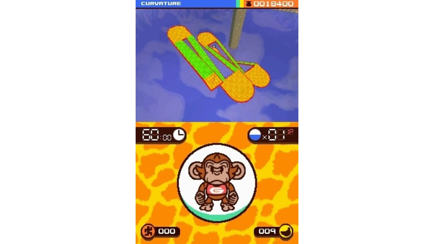 SuperMonkeyBallTouchandRollDS 2