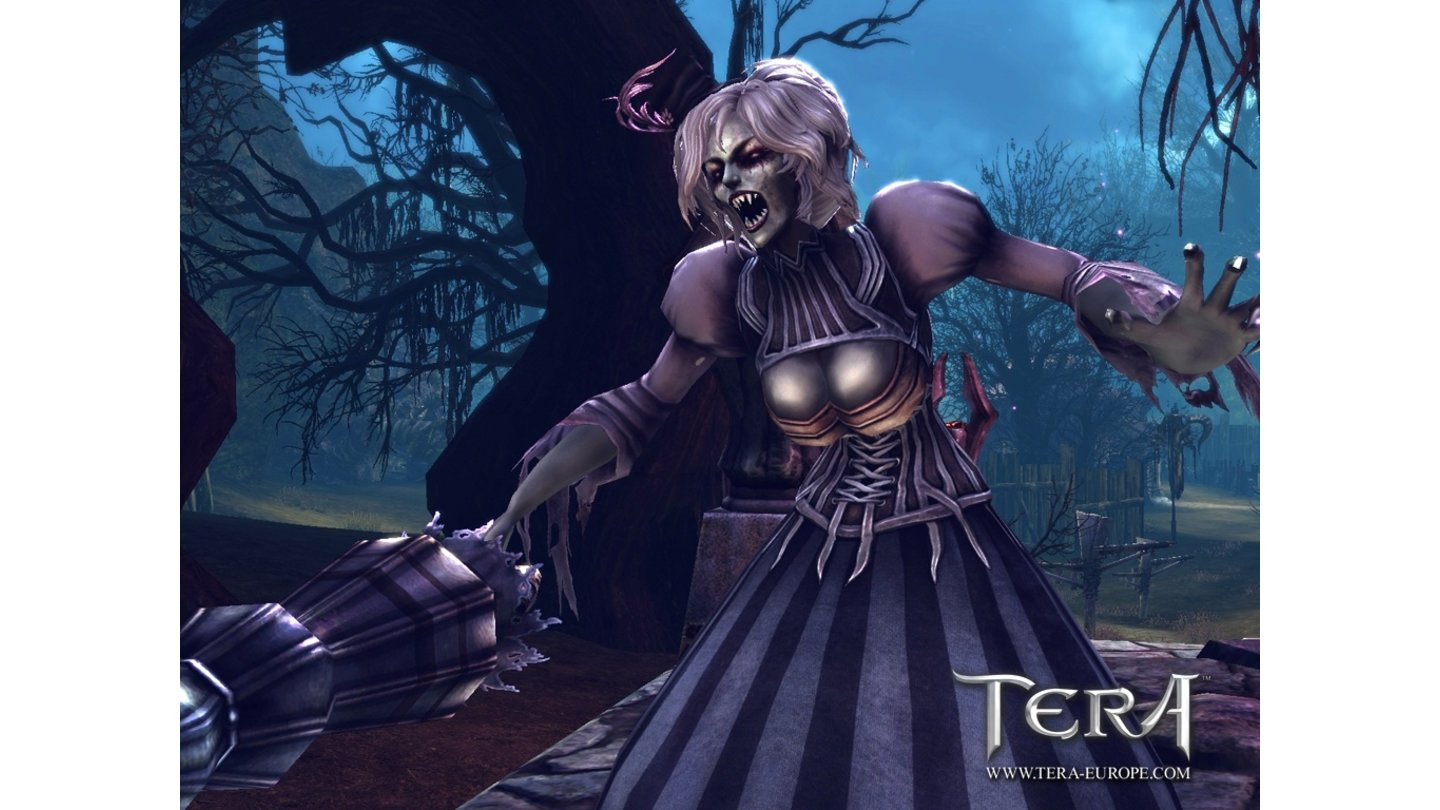 T.E.R.A.: The Exiled Realms of ArboreaHalloween-Screenshots aus der Welt des Online-Rollenspiels T.E.R.A.: The Exiled Realms of Arborea.