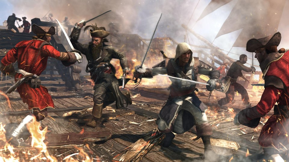 Assassin's Creed 4: Black Flag enthält ein Umfragesystem.