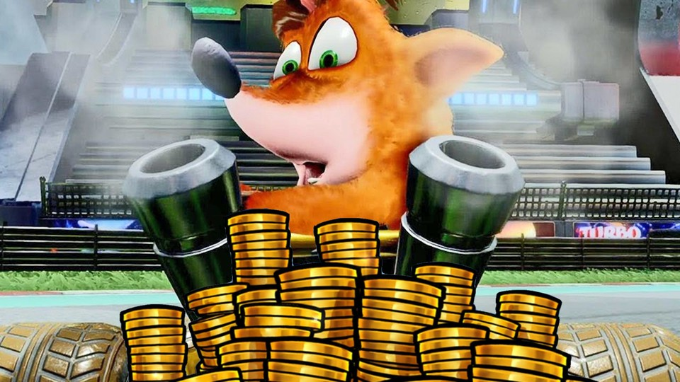 Crash Team Racing Nitro-Fueled hat seit Anfang August Mikrotransaktionen.