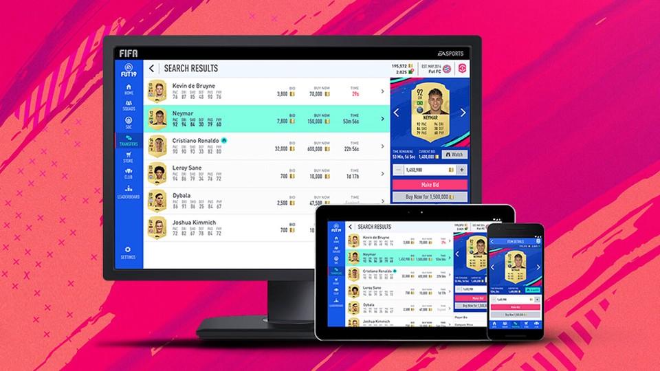 Im vergangenen Jahr haben Sie mit der FIFA 20-Webanwendung Zugriff auf Ultimate Team erhalten.