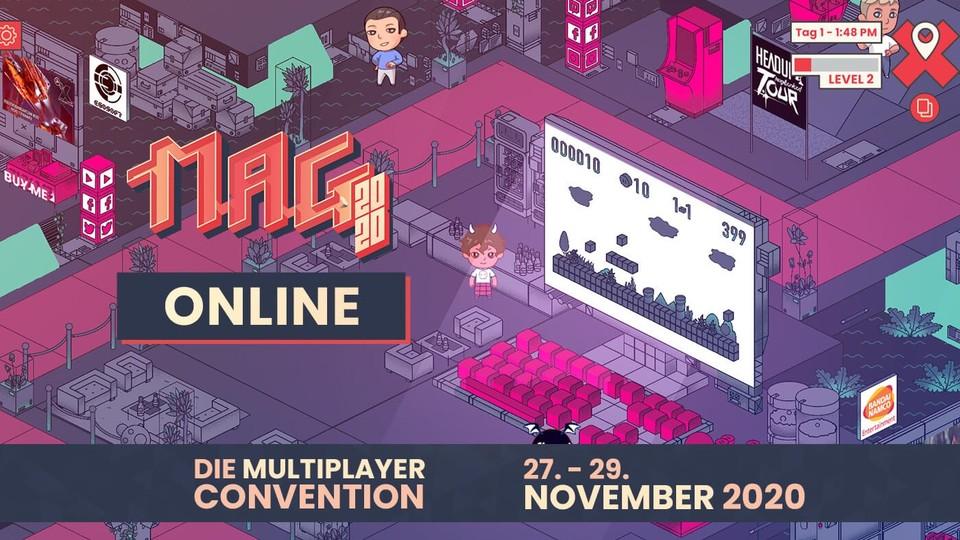 Die MAG 2020 könnt ihr gratis und bequem von zuhause aus im Browser besuchen.