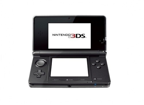 "Der 3DS in ""Cosmos Black"""