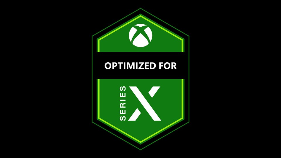 Optimized for Series X-Logo