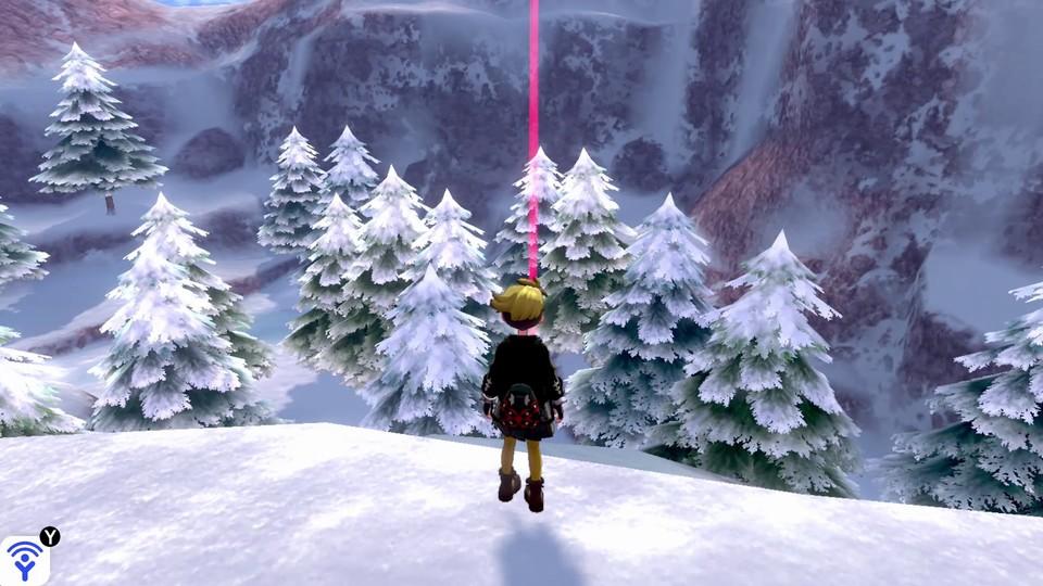 Das verschneite Land der Krone beeindruckt mit seinen weitläufigen, schneebedeckten Landschaften.