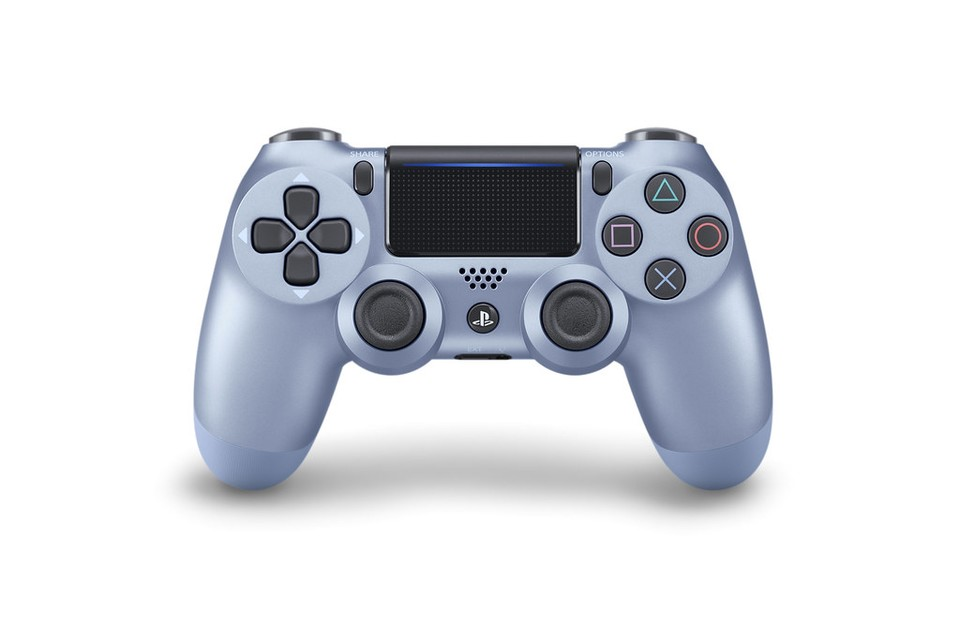 Dualshock in Titanium Blue