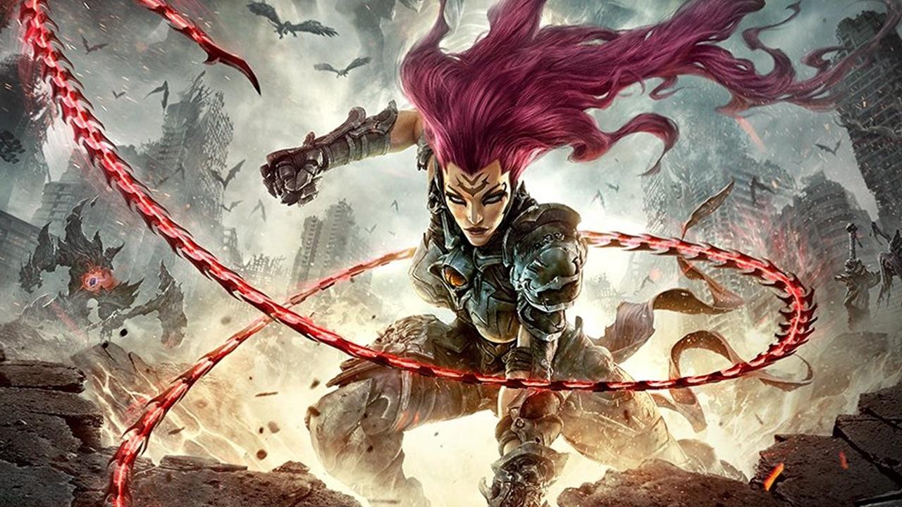 Darksiders 3 - Neues Gameplay-Video mit Fury im Kampf gegen Lava-Monster