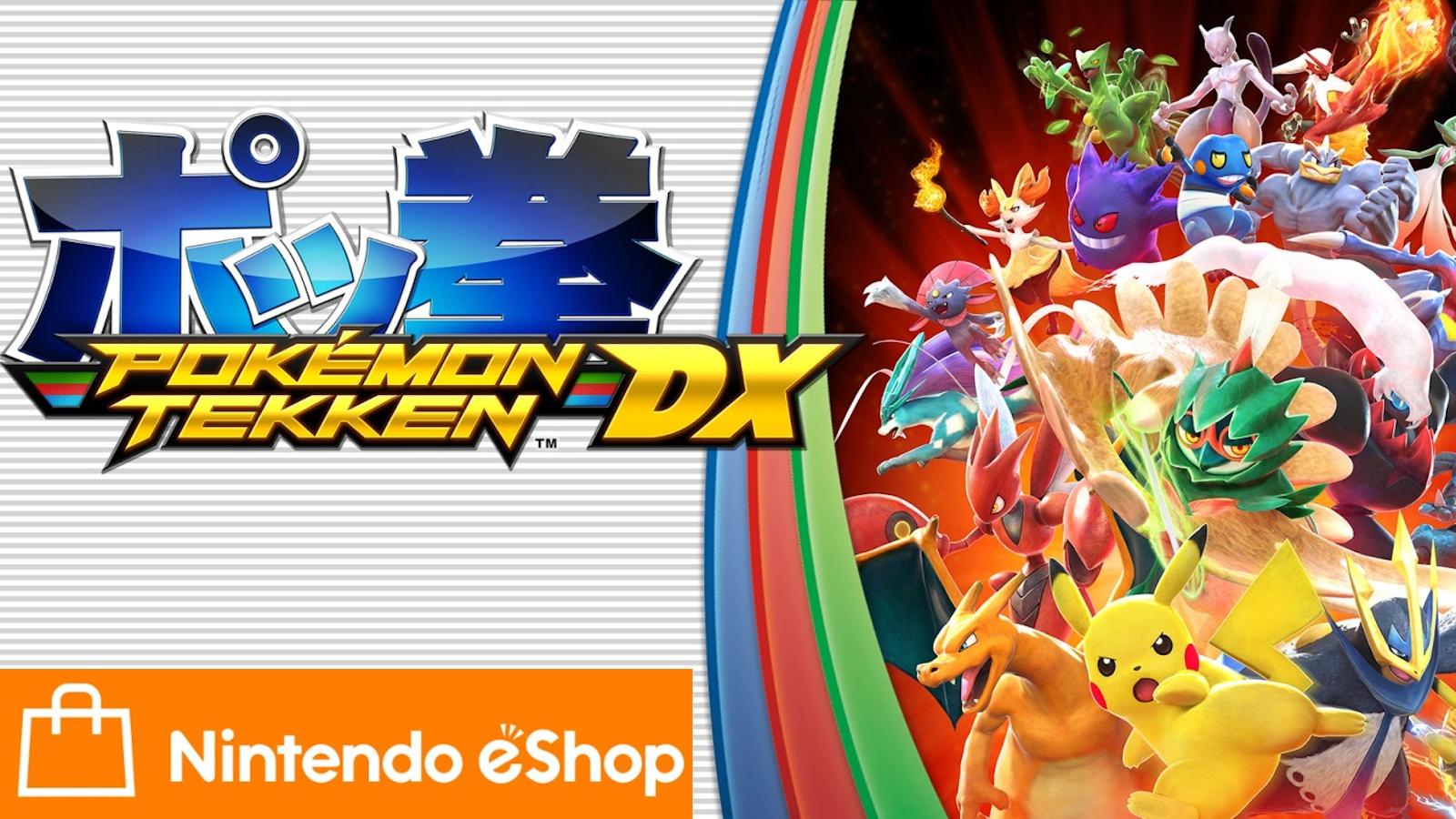 nintendo switch online - jetzt pokémon tekken dx gratis