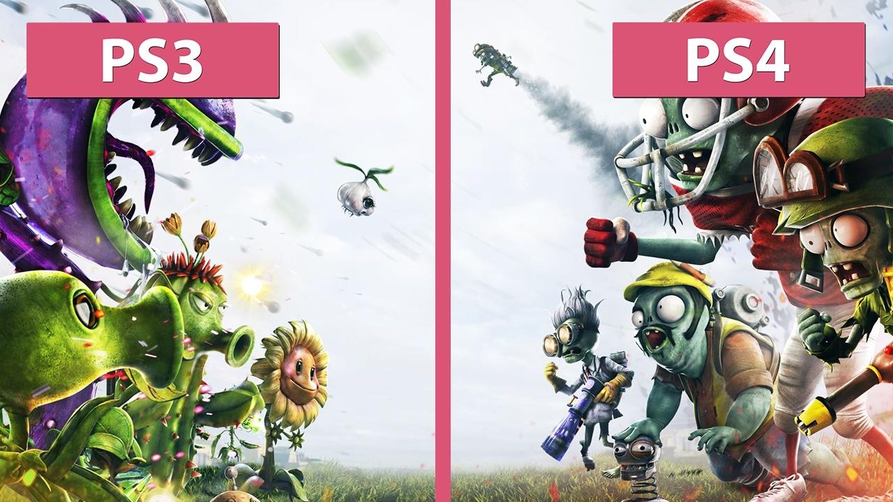 Plants vs zombies garden warfare grafikvergleich ps3 gegen ps4 gamepro for Plants vs zombies garden warfare 2 ps4