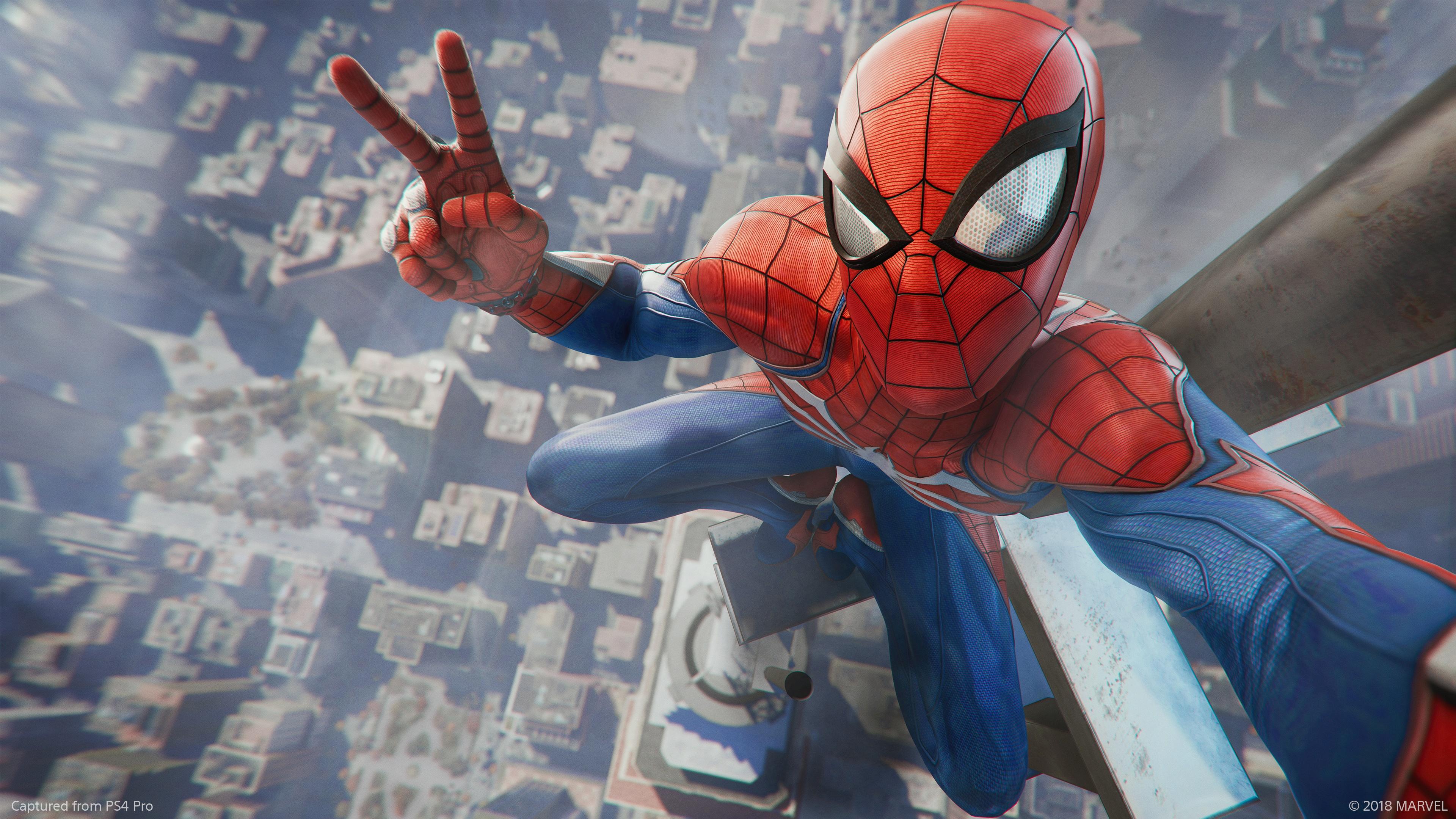 spider-man für ps4 - release-termin bekannt & neuer gameplay-trailer